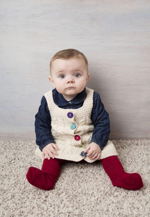 Baby Girls Aran Dress