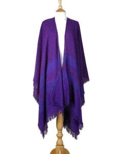 Celtic Ruana Purple