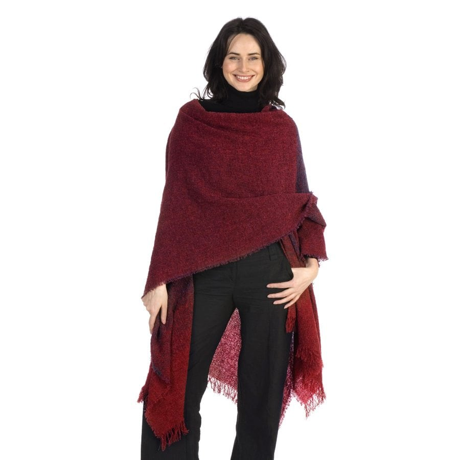 Celtic Ruana Rich Red