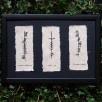 Friendship Love & Loyalty Triple Ogham Blessing