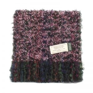 Pink Mix Mohair Scarf
