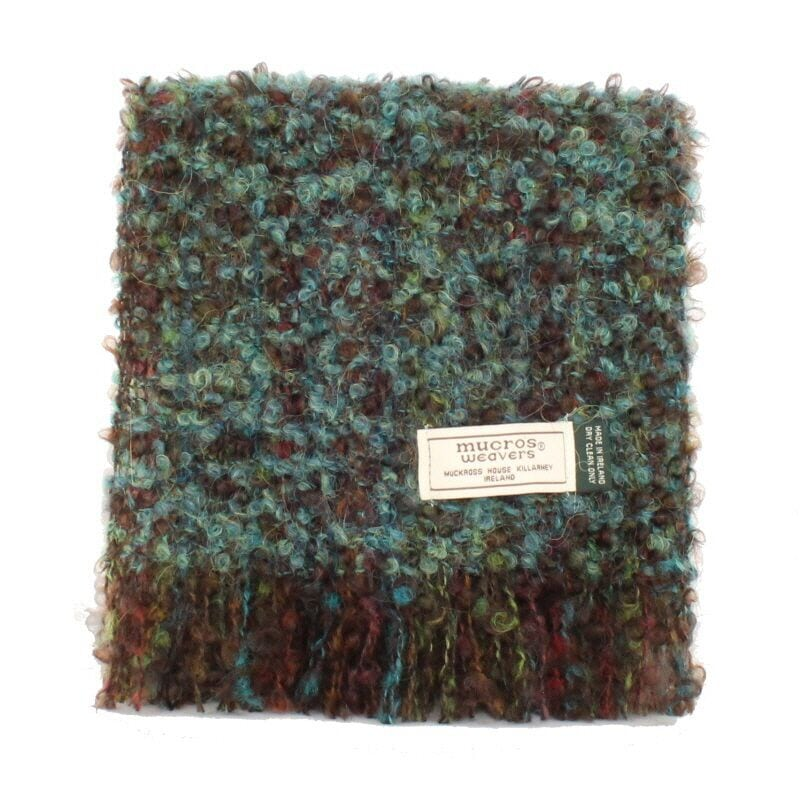 Dark Green Mohair Scarf