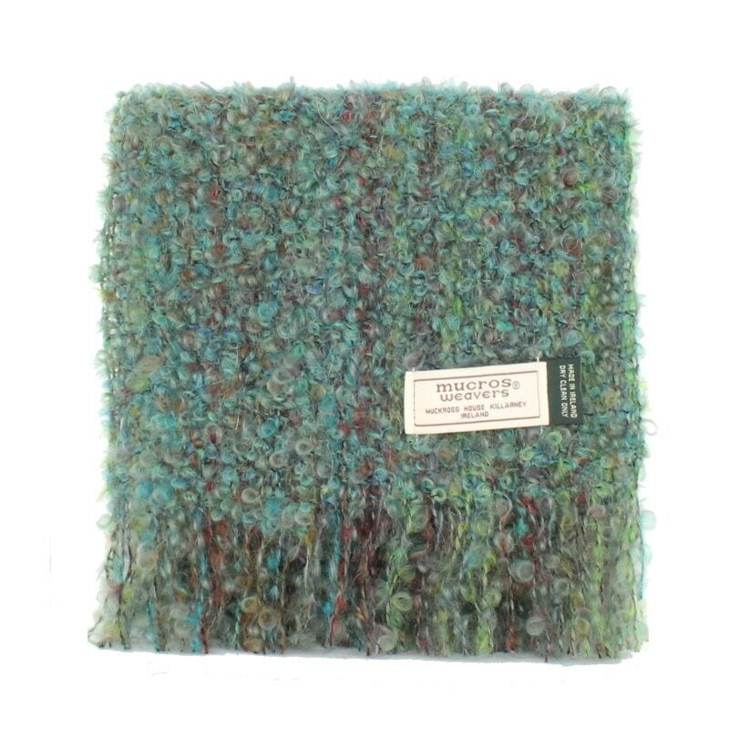 Sea Green Mohair Scarf