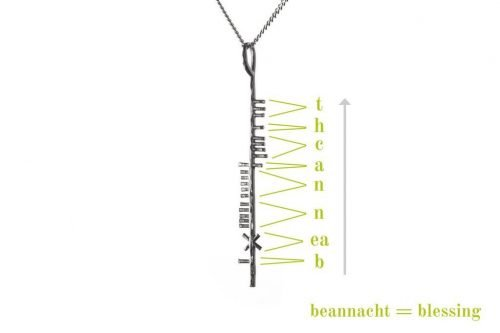 Ogham Blessing Explanation