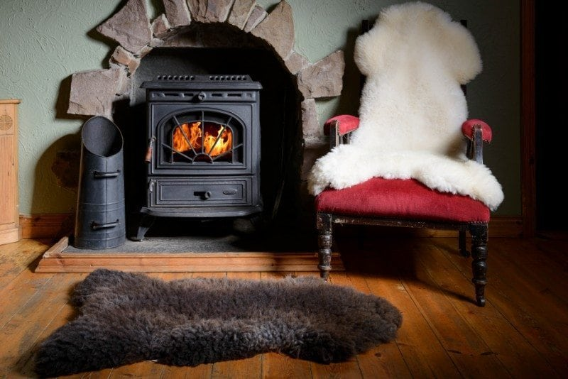 Irish Sheepskin Rug