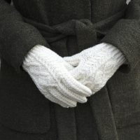 Traditional Aran Gloves