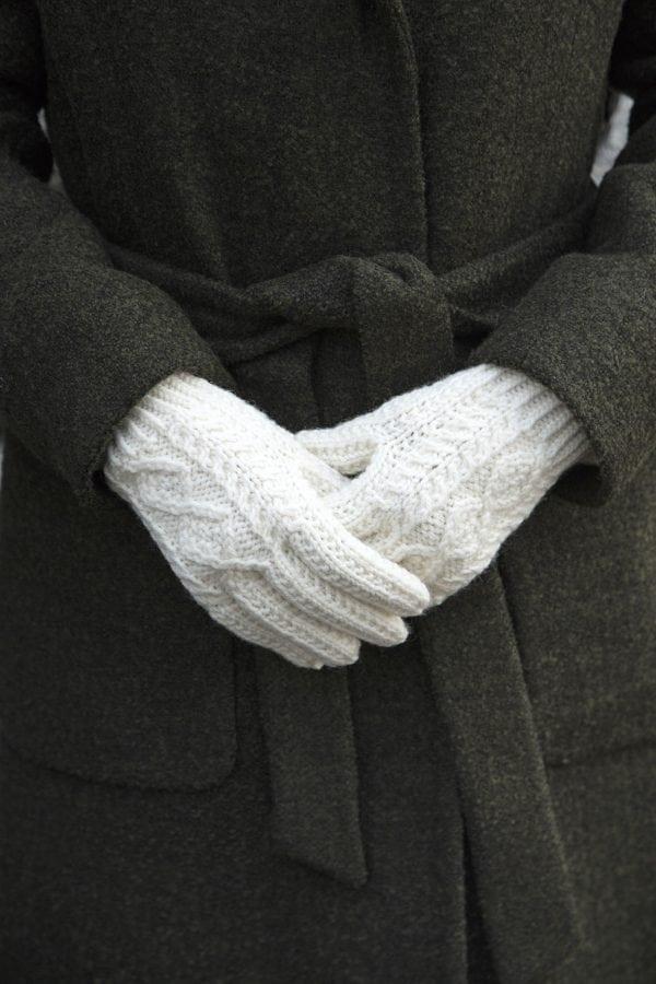 Traditional Aran Gloves