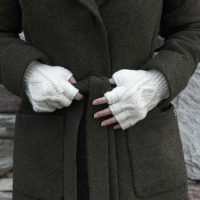 Aran Fingerless Gloves