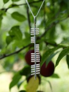 Rince/Dance Ogham Pendant (Large)