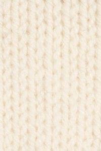 Handknit White Swatch