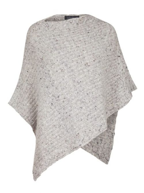 Traditional Ribbed Cable Poncho