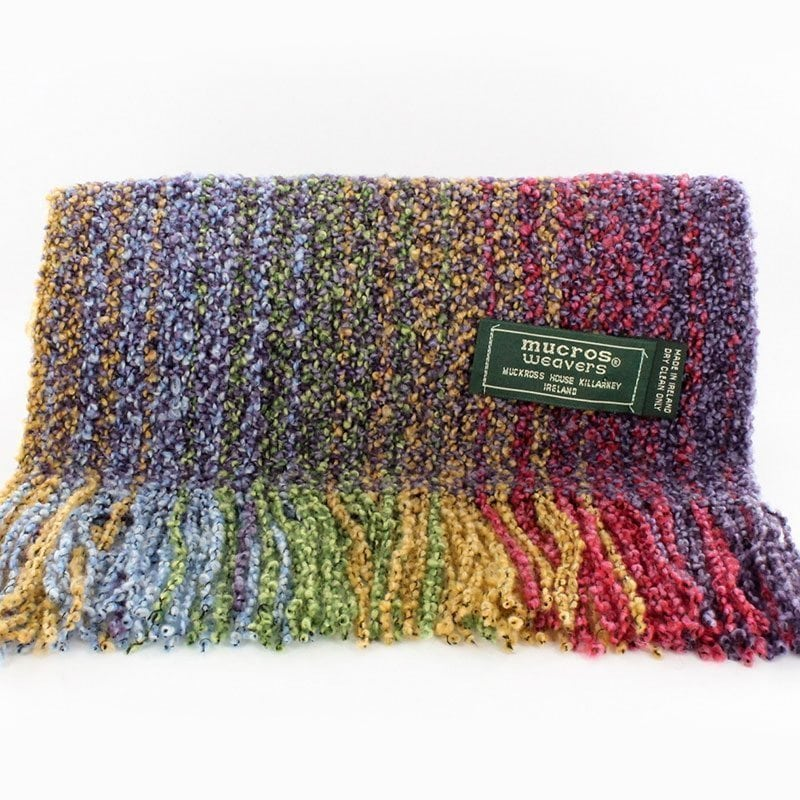 Bright Multicolour Skellig Scarf
