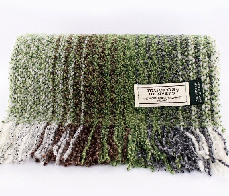 Brown & Green Skellig Scarf