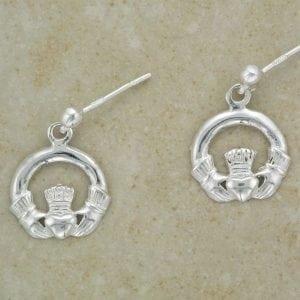Celtic Claddagh Earrings