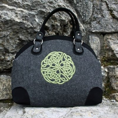 Celtic Felt Handbag