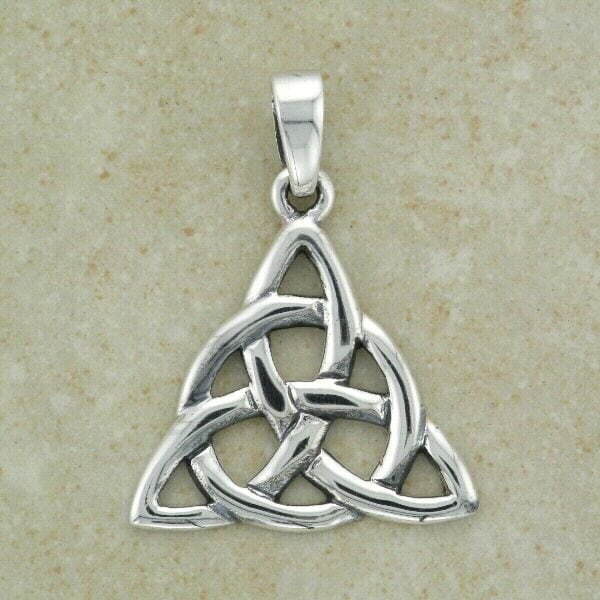 Celtic Trinity Pendant with Circle