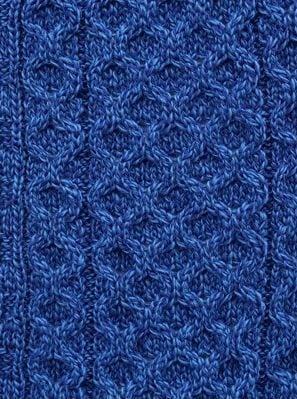 Aran Marl Blue