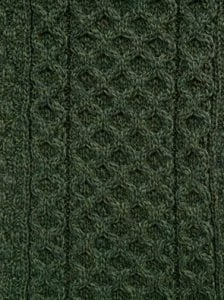 Traditional Aran Knitted Hat