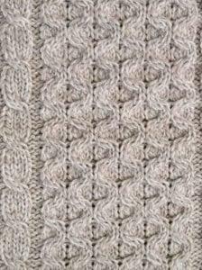 Aran Knitted Scarf