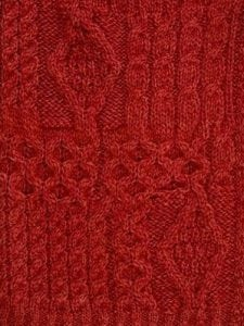 Aran Red Swatch