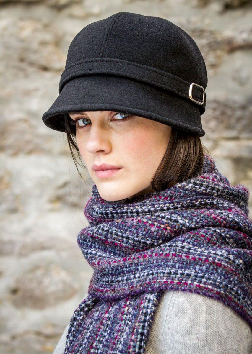 Flapper Hat Black