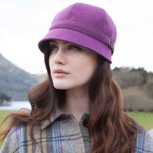 Flapper Hat Purple