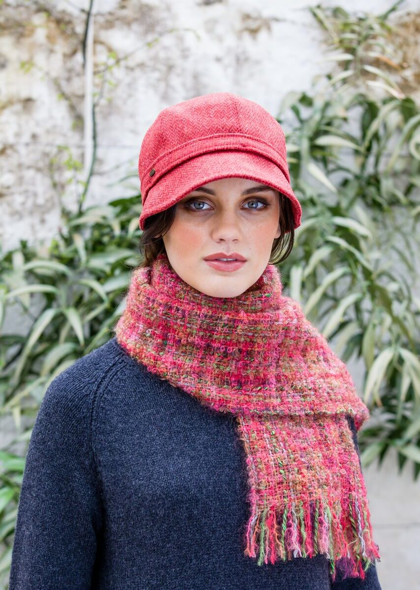 Flapper Hat Red