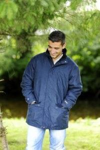 Navy Cork Jacket