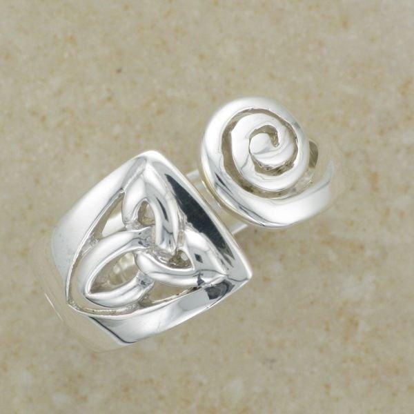 Celtic Spiral Ring