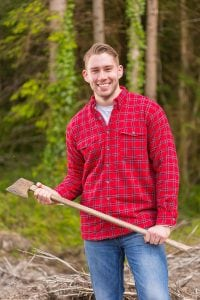 Red Fleece Lined Flannel Shirt