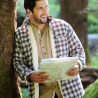 Mens Fleece Lined Flannel Shirt