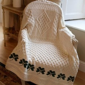 Traditional Shamrock Throw
