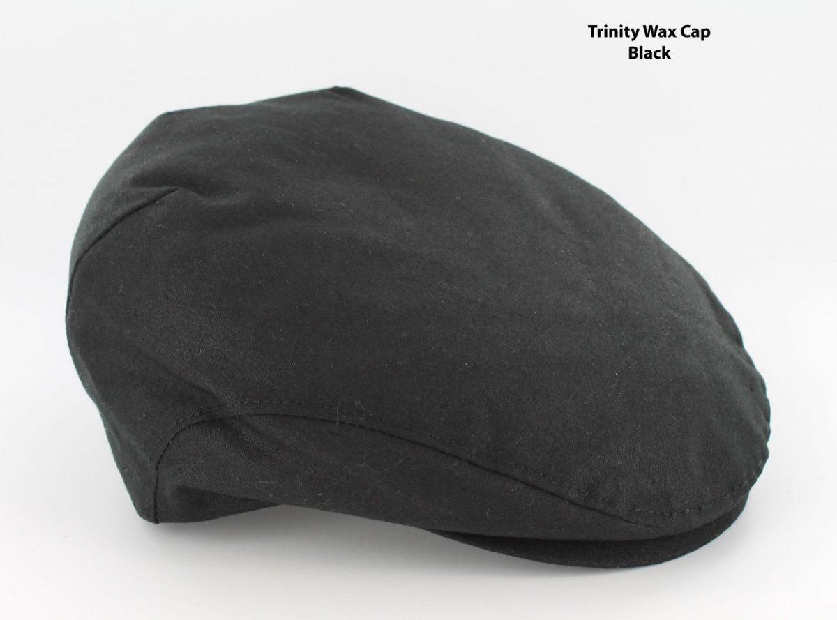 Trinity Wax Cap Black
