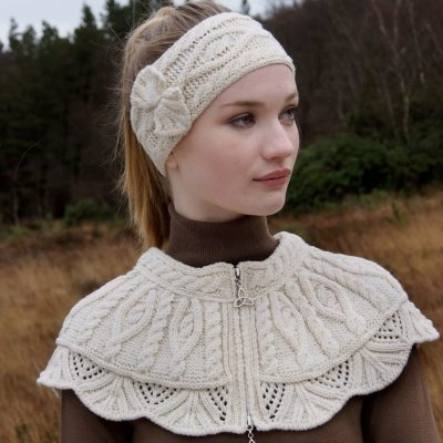 Traditional Aran Headband