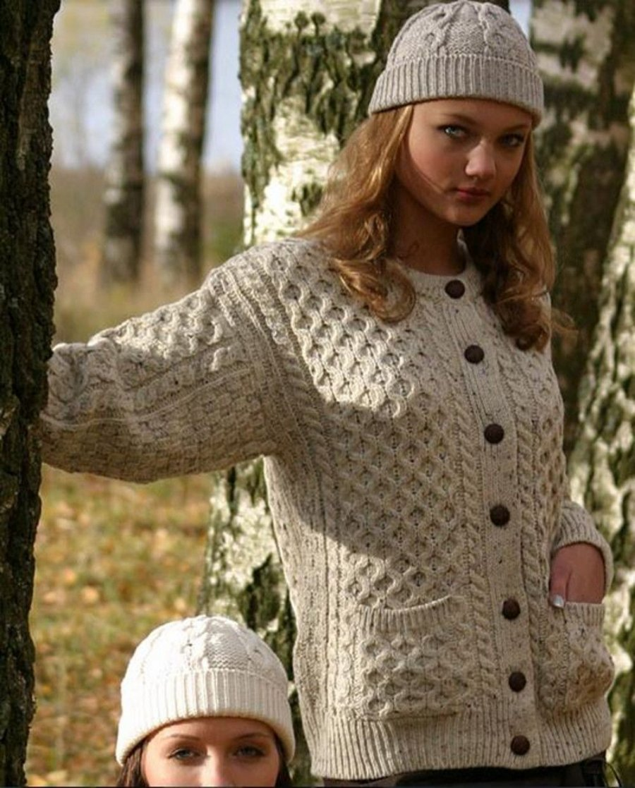 Ladies Lumber Cardigan