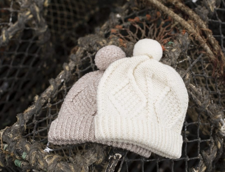 Ladies Aran Ski Hat