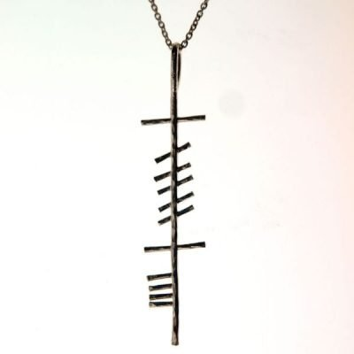 Cara Friend Ogham Pendant Large