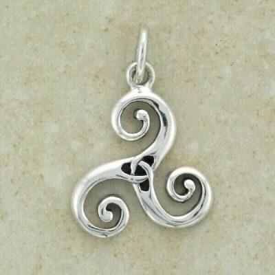 Celtic Triskel Pendant