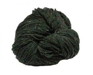 Green Aran Wool
