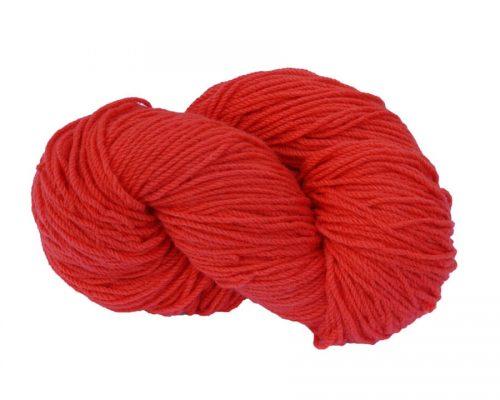 Irish Aran Wool Scarlet