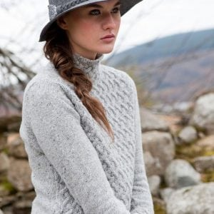 Irish Trellis Sweater