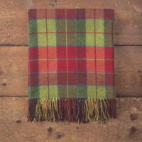 Wicklow Tartan Lambswool Throw