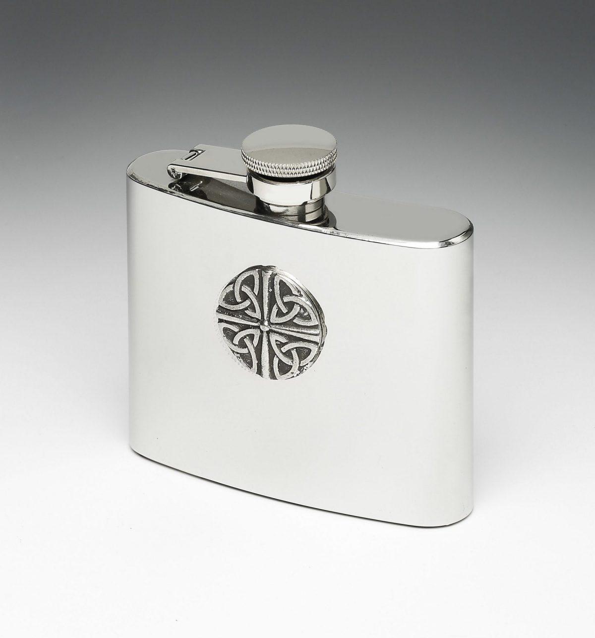 Trinity Knot Whiskey Flask