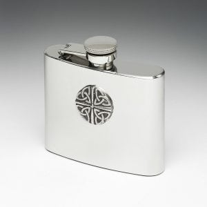 Trinity Knot Whiskey Flask