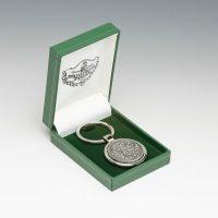 Irish Pewter Keychain Celtic Design