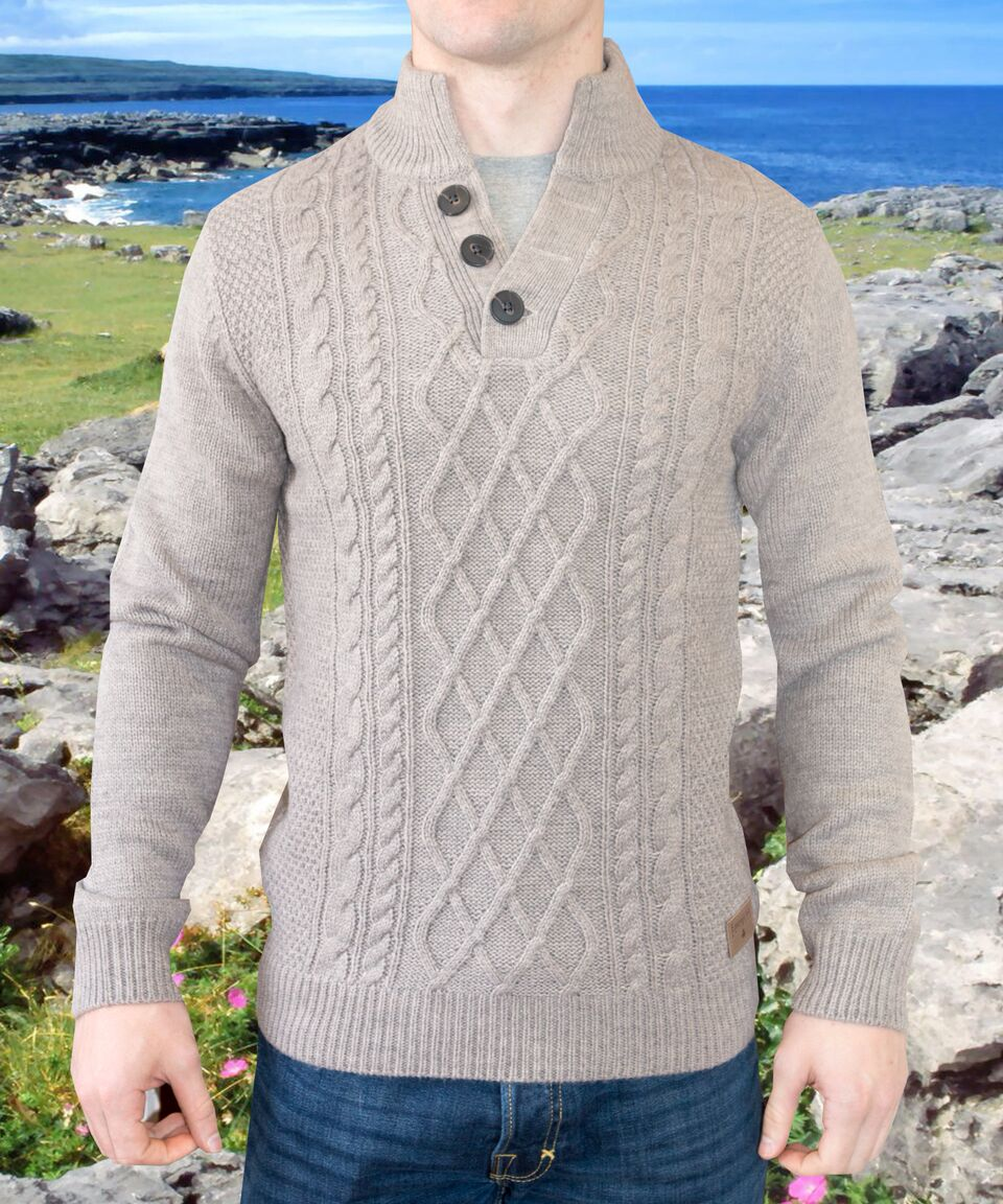Burren - Squirrel Aran Sweater