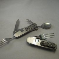 Irish Pewter Cutlery Tool