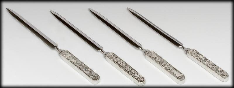 Irish Pewter Letter Opener - Paper Knife