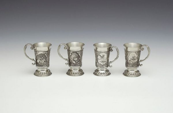 Irish Pewter Tankards
