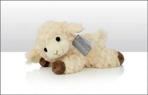 Irish Sheep Teddy Lying Down
